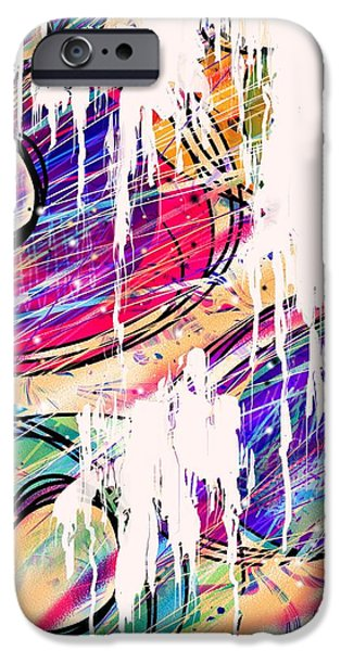 Narcotics of the Mind iPhone Case by Rachel Christine Nowicki