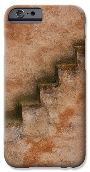 Rabat Photographs iPhone Cases - Narrow Stairs iPhone Case by Ramona Johnston