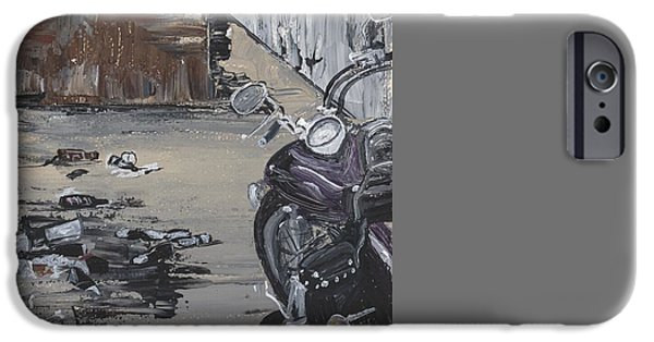 Nashville Tennessee Paintings iPhone Cases - Nashville Alley iPhone Case by Donna Mann