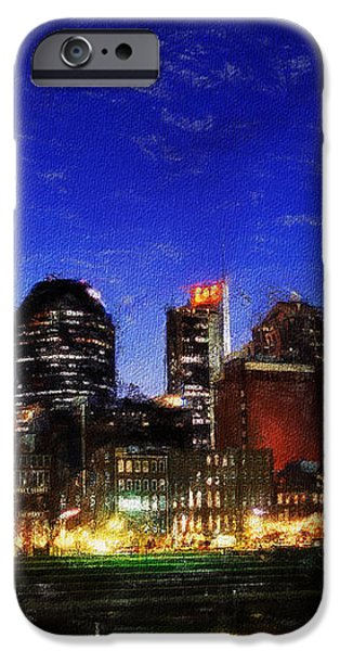 Nashville At Twilight iPhone Case by Dean Wittle