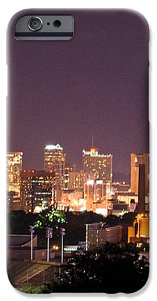 Nashville Cityscape 3 iPhone Case by Douglas Barnett