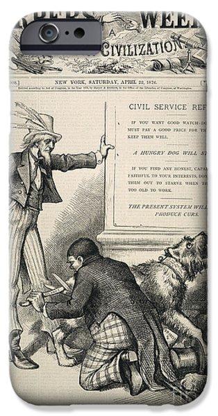 Reform iPhone Cases - Nast: Civil Service Reform iPhone Case by Granger