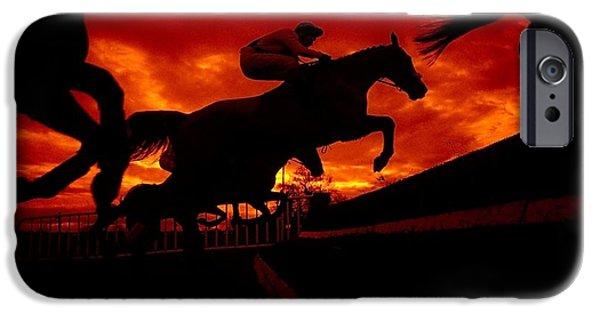 Horse Racing iPhone Cases - National Hunt, Ireland iPhone Case by The Irish Image Collection