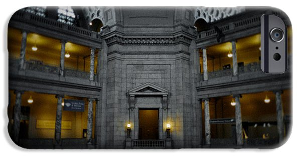 National Museum Of America History iPhone Cases - National Museum of Natural History Rotunda iPhone Case by Kyle Hanson