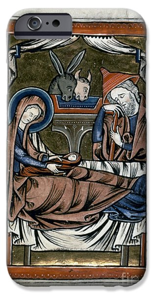 NATIVITY: ILLUMINATION iPhone Case by Granger