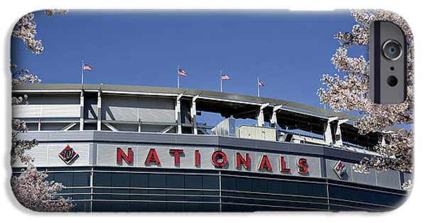 All Star Game iPhone Cases - Nats Park - Washington DC iPhone Case by Brendan Reals