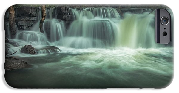 Arkansas iPhone Cases - Natural Dam iPhone Case by Larry McMahon