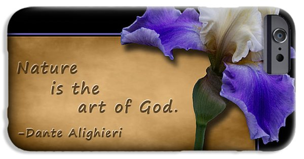 One iPhone Cases - Nature is the Art of God iPhone Case by Patti Deters