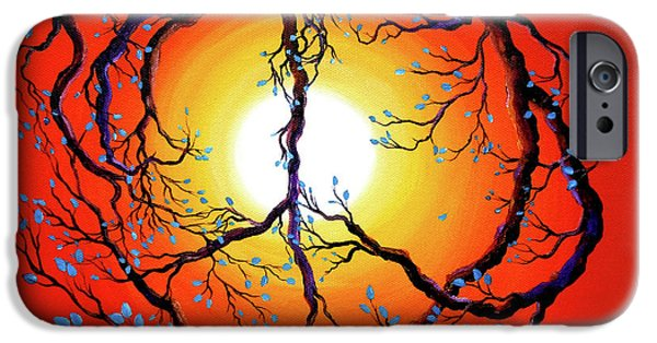 Activist iPhone Cases - Natures Bright Peace iPhone Case by Laura Iverson