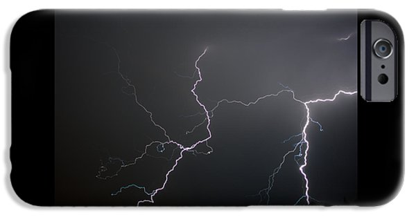 Fury iPhone Cases - Natures Fury iPhone Case by Ernie Echols