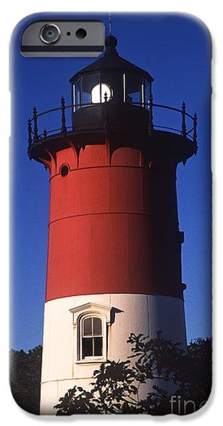 Cape Cod iPhone Cases - Nauset Light iPhone Case by John Greim