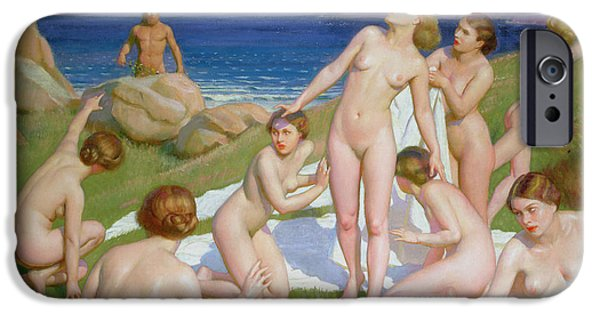Paddle iPhone Cases - Nausicaa iPhone Case by William McGregor Paxton