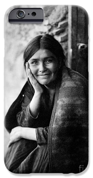 1904 iPhone Cases - Navajo Woman, 1904 iPhone Case by Granger