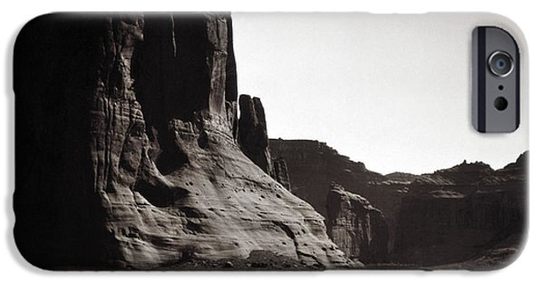 1904 iPhone Cases - Navajos: Canyon De Chelly, 1904 iPhone Case by Granger