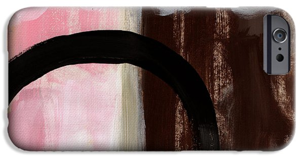 Contemporary Abstract iPhone Cases - Neapolitan 2 - Abstract Painting iPhone Case by Linda Woods