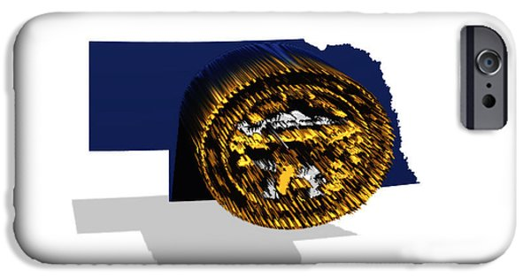 Lincoln iPhone Cases - Nebraska 6a iPhone Case by Brian Reaves