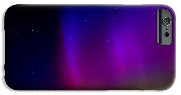 Nebraska iPhone Cases - Nebraska Aurora iPhone Case by Tim Abshire