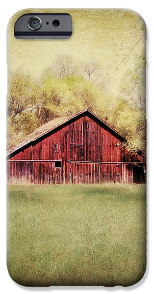 Nebraska Barn iPhone Case by Julie Hamilton