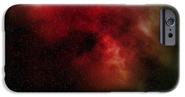 Macrocosm iPhone Cases - Nebula iPhone Case by Michal Boubin