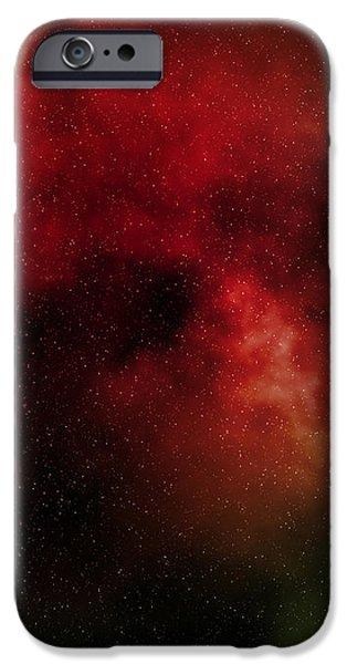 nebula iPhone Case by Michal Boubin