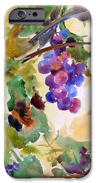 Celebrate Mixed Media iPhone Cases - Neighborhood Grapevine iPhone Case by Kathy Braud