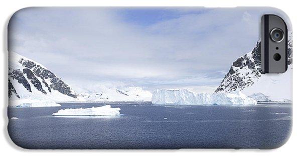 Lilachw iPhone Cases - Neko Harbor Antarctica  iPhone Case by Lilach Weiss