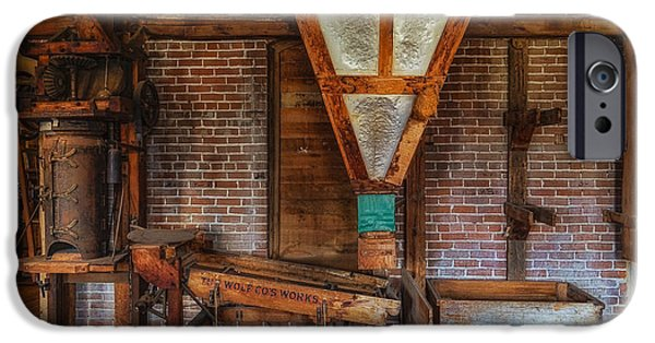 Nineteenth iPhone Cases - Neligh Mill Warehouse iPhone Case by Priscilla Burgers