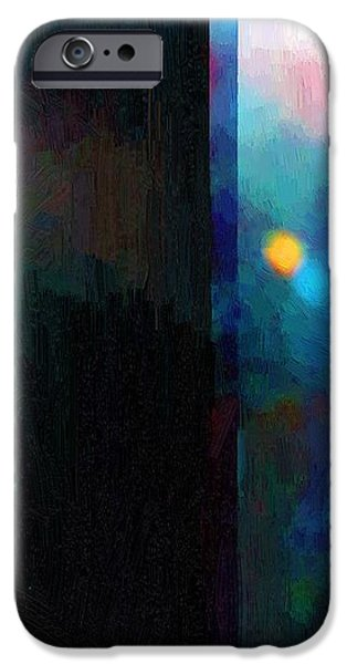 Abstract Expressionist iPhone Cases - Neptunes Monolith iPhone Case by RC deWinter