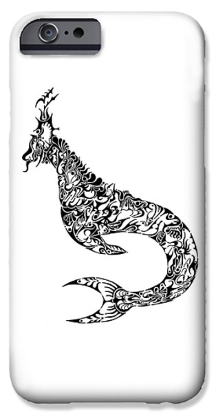 Serpent iPhone Cases - Nessy iPhone Case by Thomas Coleman