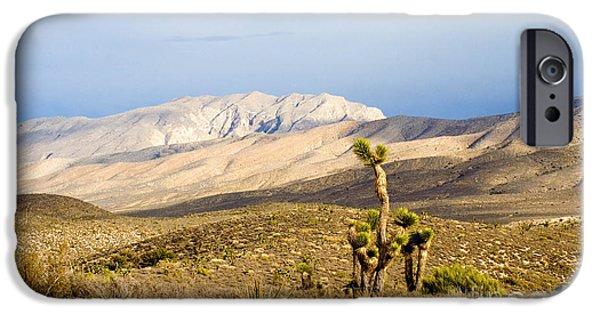 Hightower iPhone Cases - Nevada Joshua Tree iPhone Case by Tim Hightower