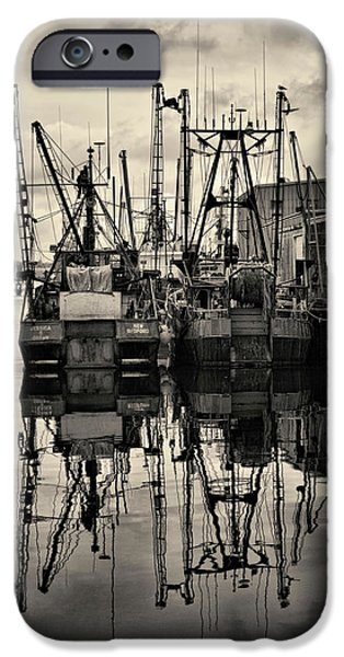 East Village iPhone Cases - New Bedford Waterfront No. 1 iPhone Case by David Gordon