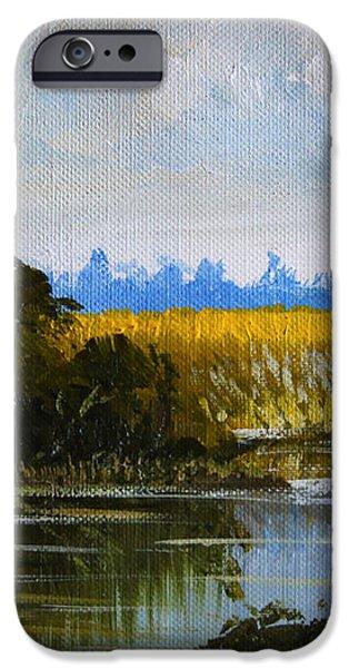 New Jersey Marsh iPhone Case by Karon Melillo DeVega