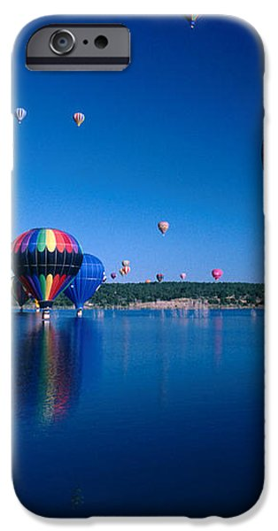 New Mexico Hot Air Balloons iPhone Case by Jerry McElroy