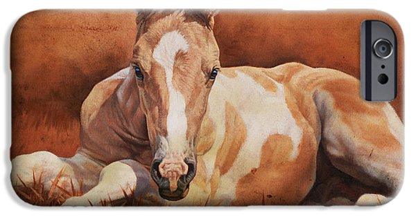 Equestrian iPhone Cases - New Paint iPhone Case by JQ Licensing