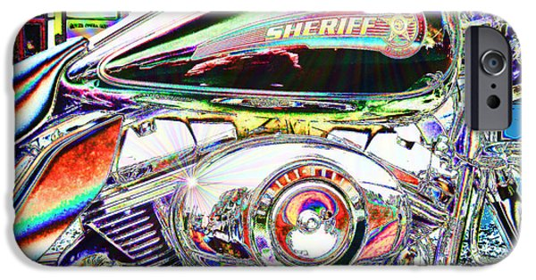 Law Enforcement iPhone Cases - New Sheriff in Town iPhone Case by David Wimsatt