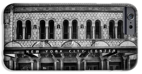 Dave iPhone Cases - New York City Center. iPhone Case by David Hare