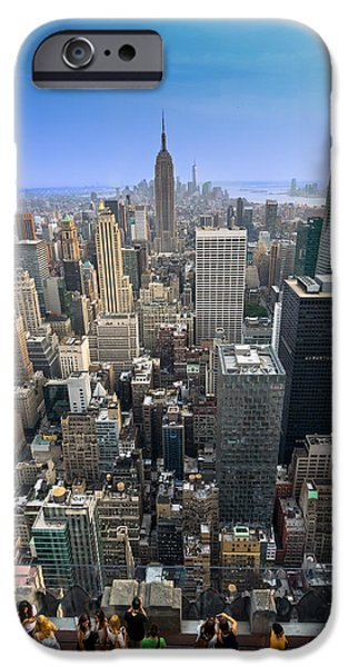 Empire State iPhone Cases - New York City iPhone Case by Guilherme Rodrigues