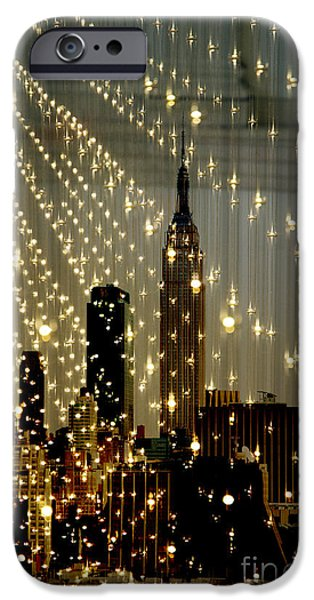 Surtex Licensing iPhone Cases - New York City Lights iPhone Case by Anahi DeCanio - ArtyZen Studios