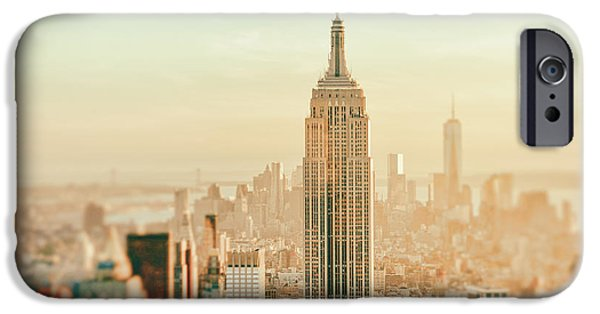 Empire State iPhone Cases - New York City - Skyline Dream iPhone Case by Vivienne Gucwa
