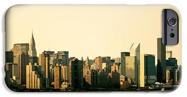 Empire State iPhone Cases - New York City Skyline Panorama iPhone Case by Vivienne Gucwa