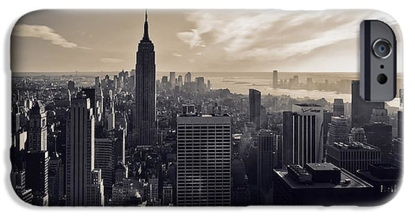 Empire State iPhone Cases - New York iPhone Case by Dave Bowman