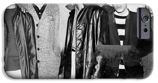 Arrest iPhone Cases - NEW YORK: GANG, c1959 iPhone Case by Granger