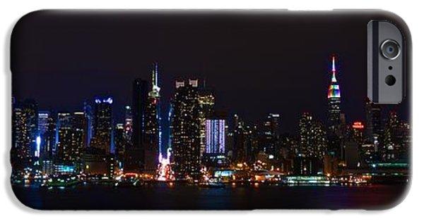 July 4th iPhone Cases - New York New York iPhone Case by MingTa Li