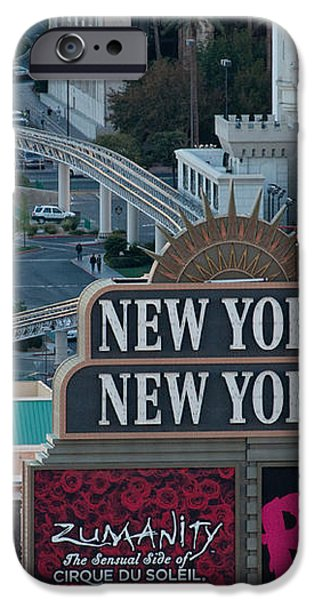 New York New York Strip iPhone Case by Andy Smy