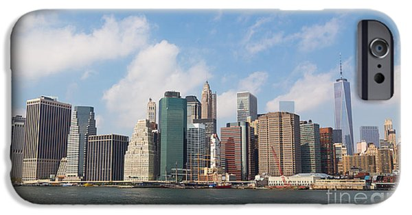 United iPhone Cases - New York Skyline iPhone Case by Mike Clegg