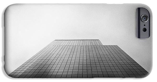 Square Format iPhone Cases - New York Skyscraper iPhone Case by John Farnan