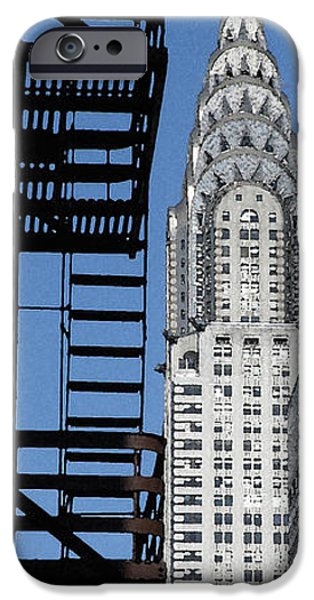 New York Watercolor 3 iPhone Case by Andrew Fare
