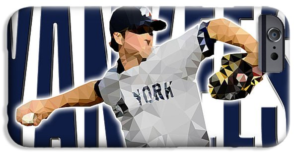 Baseball Stadiums iPhone Cases - New York Yankees iPhone Case by Stephen Younts