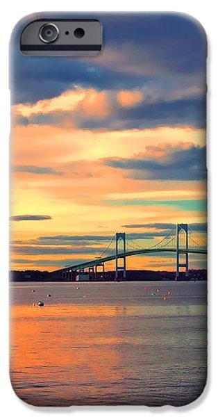 Newport Gold iPhone Case by Joann Vitali