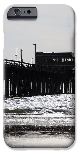Newport Pier iPhone Case by Paul Velgos